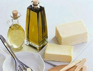 Aceite y margarina
